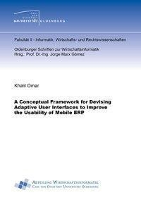 A Conceptual Framework for Devising Adaptive User Interfaces to Improve the Usability of Mobile ERP