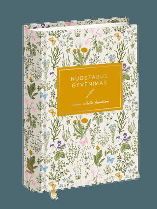 NUOSTABUS GYVENIMAS: viena eilutė kasdien. Stilingo dizaino 5 metų dienoraštis gražiausioms akimirkoms prisiminti