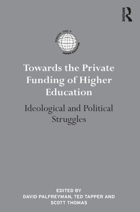 Towards the Private Funding of Higher Education