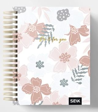 HAPPY CALENDAR PLANUOKLIS SU SPIRALE DO IT FOR YOU 21/22 (16 MĖN., LIET.K.)