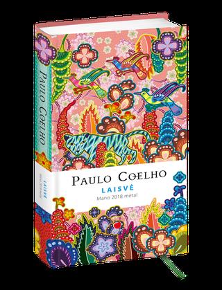 Paulo Coelho LAISVĖ: mano 2018 metai – unikali darbo knyga su gražiausiomis Paulo Coelho citatomis ir ryškiomis Catalinos Estrados iliustracijomis, išskirtinė spaudos ir popieriaus kokybė + juostelė, RIBOTAS TIRAŽAS