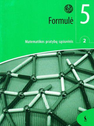 Formulė. 2-asis matematikos pratybų sąsiuvinis V klasei (ŠOK)
