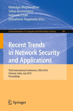 Recent Trends in Network Security and Applications