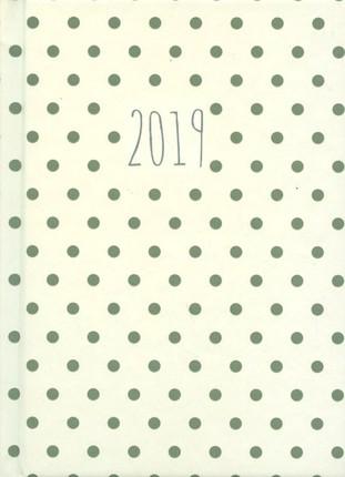 Darbo kalendorius TAŠKUOTAS (baltas) 2019 B6