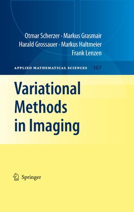Variational Methods in Imaging