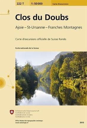 Swisstopo 1 : 50 000 Clos du Doubs