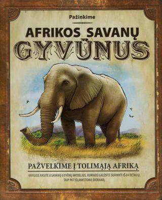 Pažinkime Afrikos savanų gyvūnus