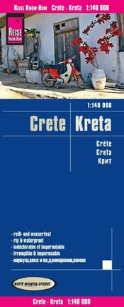 Reise Know-How Landkarte Kreta 1 : 140.000