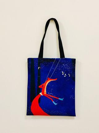"""Pirkinių maišelis """"Laimė yra lapė"""""""