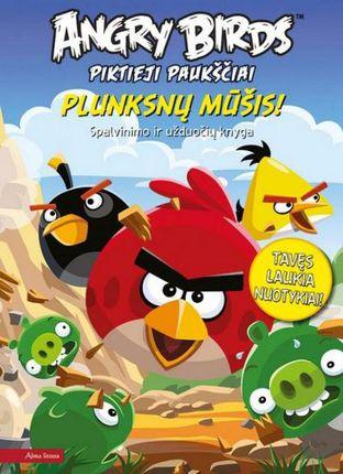 Angry Birds. Piktieji paukščiai. Plunksnų mūšis