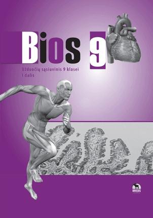 Bios 9. Biologijos užduočių sąsiuvinis 9 kl., I d.