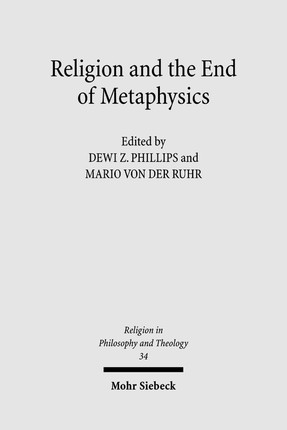 Religion and the End of Metaphysics