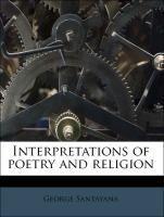 Interpretations of poetry and religion