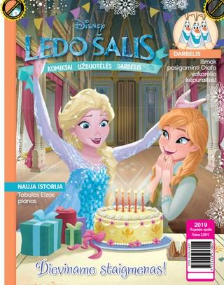 Ledo šalis. Frozen. Žurnalas. Nr 5