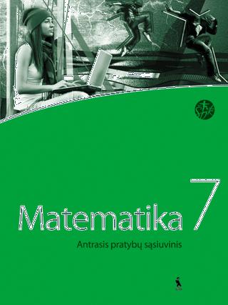 Matematika.  Antrasis pratybų sąsiuvinis VII klasei (ŠOK)