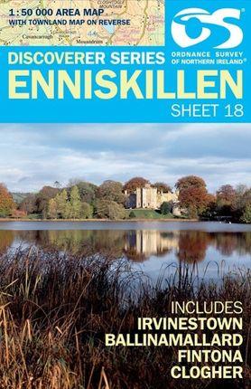 Irish Discovery Series 18. Enniskillen 1 : 50 000