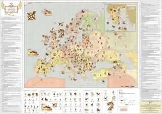 Europos mitinių būtybių žemėlapis