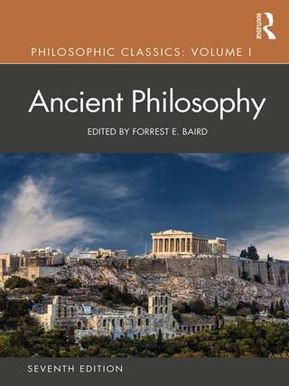 Philosophic Classics: Volume 1