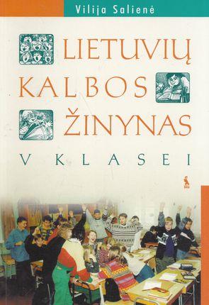 Lietuvių kalbos žinynas V klasei