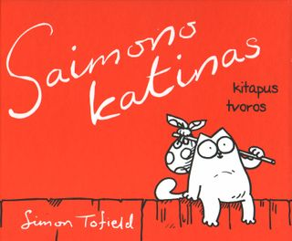 Saimono katinas. Kitapus tvoros (knyga su defektais)