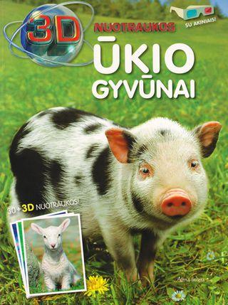 3 D nuotraukos. Ūkio gyvūnai