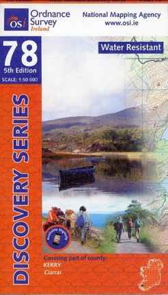 Irish Discovery Series 78 Kerry 1 : 50 000
