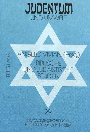 Biblische und judaistische Studien