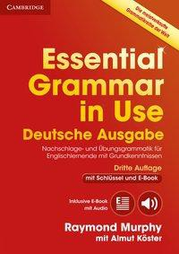 Essential Grammar in Use. German Third Edition . Book with answers and Interactive ebook