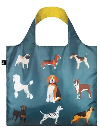 """LOQI pirkinių krepšys """"DOGS Woof """""""