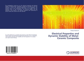 Electrical Properties and Dynamic Stability of Metal-Ceramic Composite