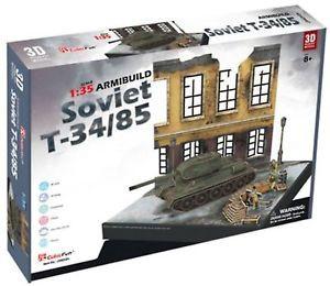 3D dėlionė: Soviet T-34/85