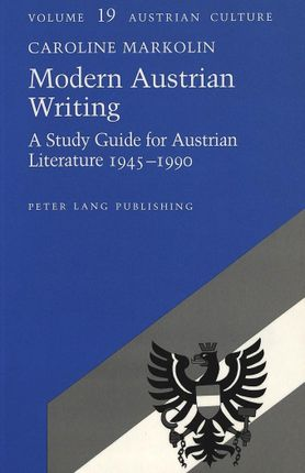 Modern Austrian Writing