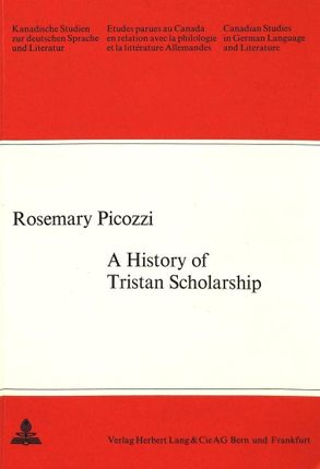 A History of Tristan Scholarship