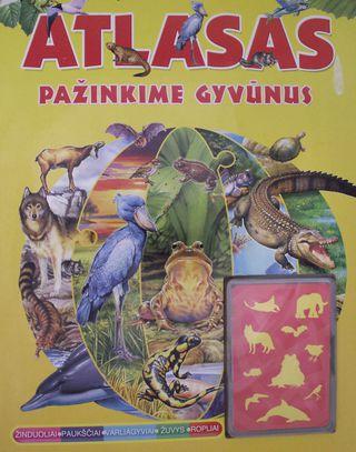 Atlasas: Pažinkime gyvūnus