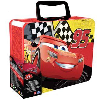 CARDINAL GAMES dėlionė 3D 24d. metalinėje dėž. Cars3, 6035646