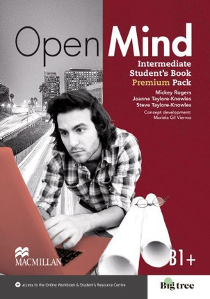 Open Mind. Intermediate (British English edition). Student's Book with Webcode (incl. MP3) + Online-Workbook
