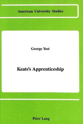 Keats's Apprenticeship
