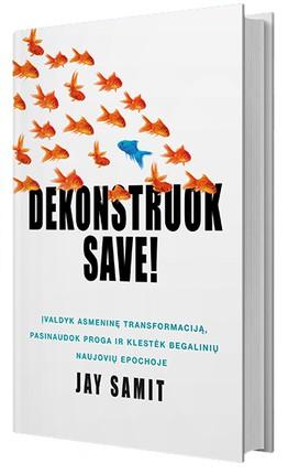 Dekonstruok save: įvaldyk asmeninę transformaciją, pasinaudok proga ir klestėk begalinių naujovių epochoje