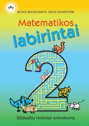 Matematikos labirintai: užduočių rinkiniai antrokams