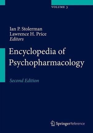Encyclopedia of Psychopharmacology. 2 Bände