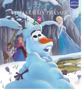 Ledo šalis. Olafas laukia pavasario