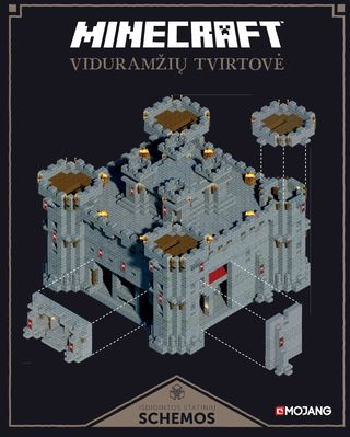 Minecraft. Viduramžių tvirtovė  (knyga su defektais)