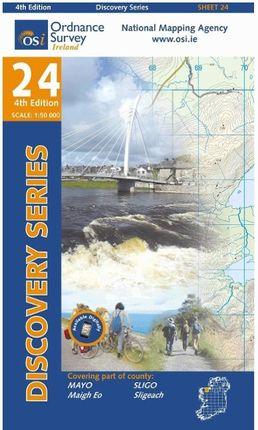 Irish Discovery Series 24. Mayo, Sligo 1 : 50 000