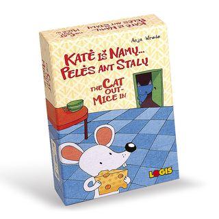Katė iš namų... pelės ant stalų! Stalo žaidimas