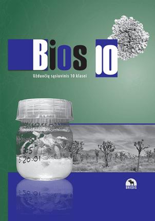 Bios 10. Biologijos užduočių sąsiuvinis 10 kl.