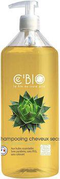 CEBIO Cheveux Secs maitinamasis šampūnas sausiems plaukams, 500ml