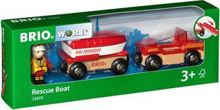 BRIO RAILWAY gelbėjimosi valtis, 33859000