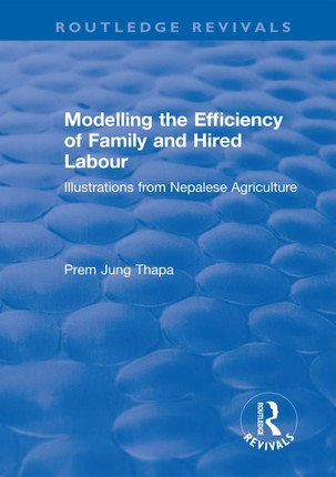 Modelling the Efficiency of Family and Hired Labour