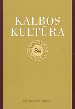 Kalbos kultūra 84