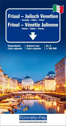 KuF Italien Regionalkarte 05. Friaul - Julisch Venetien 1 : 200 000